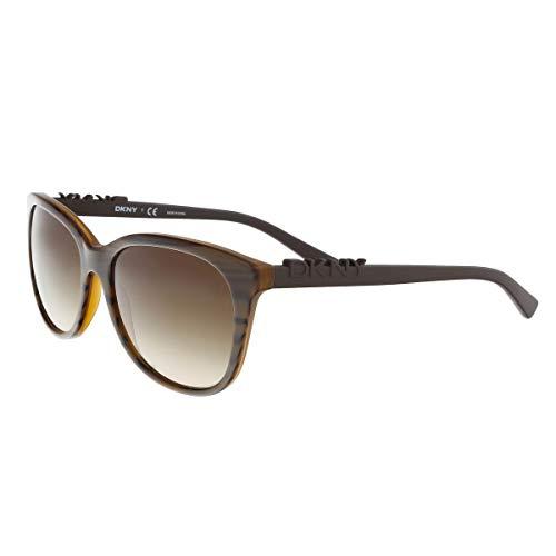 DKNY DY4126-366713 Brille, braun, 57/17/140 für Damen