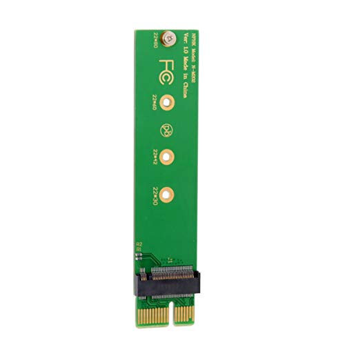 Cablecc NGFF M-Key NVME AHCI SSD to PCI-E 3.0 1x x1 Vertical Adapter for XP941 SM951 PM951 960 EVO SSD