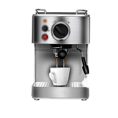 Eummit espresso maker Semi-automatic espresso machine, Italian good espresso machine, house espresso machine, milk foaming machine, pump espresso machine, 205mm × 260mm × 320mm, silver, crimson, optiona