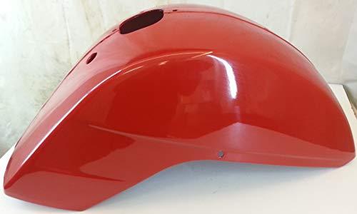 Garde-boue avant original LML Star 125-150-151-200 cc 2/4 temps et automatique – Couleur : rouge pastel