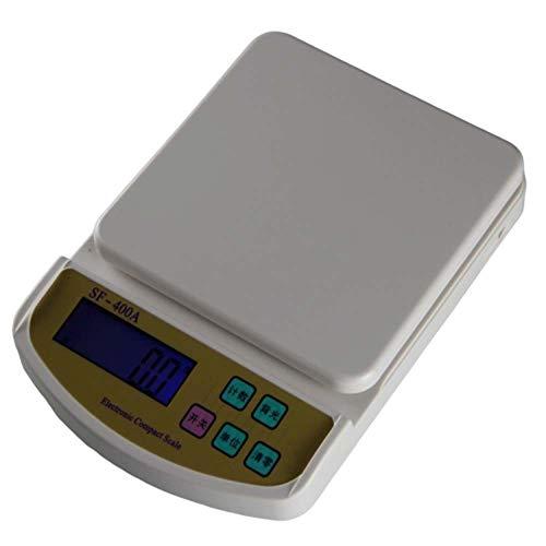 Wonderful thoughts Haushalt Backen Miniküchenwaage elektronische Waage 0,1g g Waagschale medizinisches Pulver Tee Bench Scale Vogelnests,2kg/0.1g