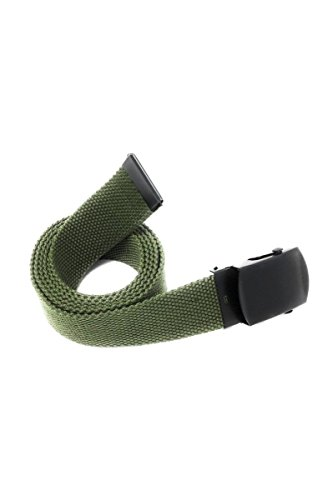 Textilgürtel vert olive