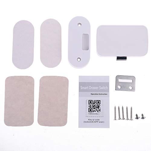 BELTI La aplicación Inteligente del teléfono móvil de la Cerradura del cajón sin Llave de Bluetooth desbloquea la Cerradura de Seguridad antirrobo