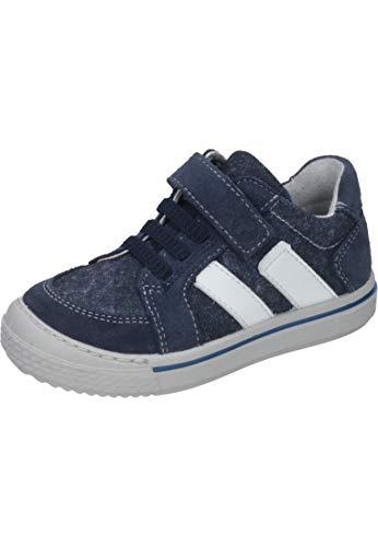 RICOSTA Jungen Jona Sneaker, Blau (Reef/Jeans 173), 32 EU