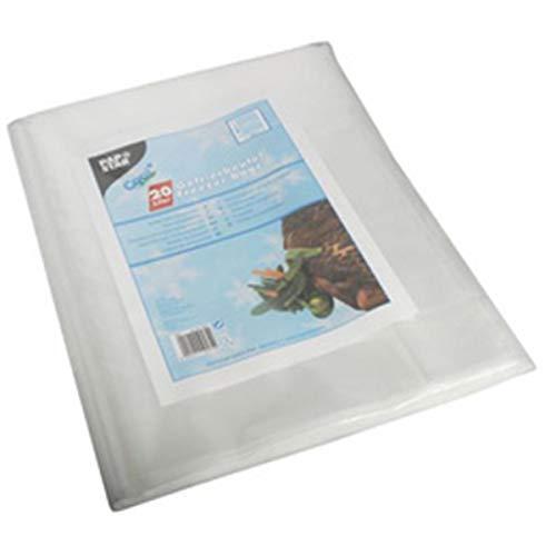50 Gefrierbeutel, LDPE 60 l 90 cm x 50 cm transparent, 60 my