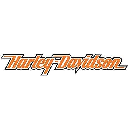 Retro Aufkleber Für Helm Harley Davidson Logo Weiß Auto