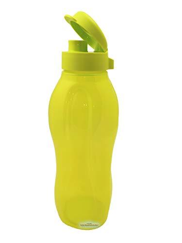 Tupperware EcoEasy - Botella con tapa abatible (1,5 L, con ojal, para deportes, fitness, escuela)
