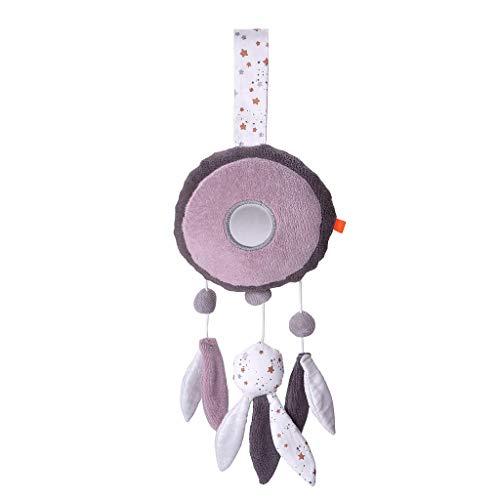 kikadu Spieluhr Traumfänger 35 cm waschbar mit herausnehmbaren Spielwerk GOTS zertifiziert Bio-Baumwolle für Mädchen ab Geburt NEU