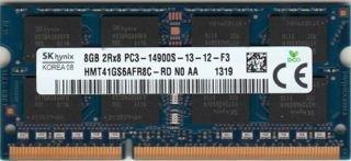 SK hynix 8GB DDR3L 1.35 V SODIMM PC3-14900 1866MHz