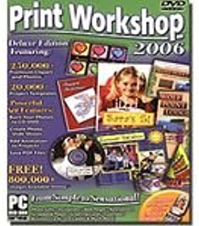 Print Workshop 2006 Deluxe Edition (PC DVD-ROM), Product #33665