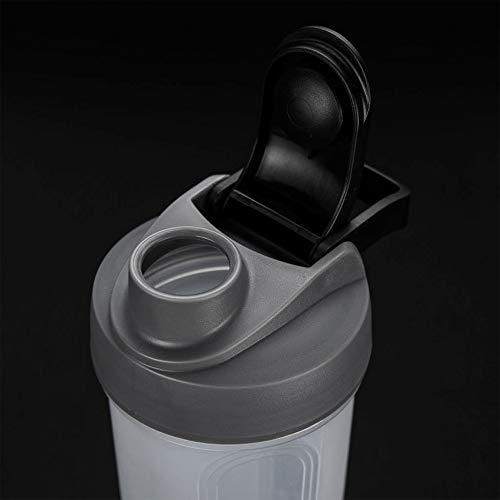 Aofocy Sports Bouteilles Shaker Bouteilles Bouteille Mixer Nutrition Shaker Poudre De Protéine Coupe Large Gamme d 'Effets et Facile à Transporter