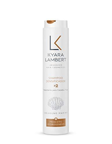 Kyara Lambert - Shampoo Densificador x2 con Colágeno Marino concentrado | Densyfing Shampoo | Champú para Cabellos Finos, Volumen, Vitalidad y Fuerza | Sin siliconas