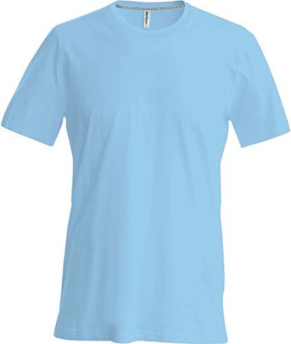 Kariban T-Shirt Manches Courtes Enfant - Sky Blue, 8/10, Enfant