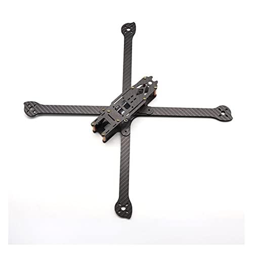 VIKEP 3K Full Carbon Fiber True X XL8 36.0mm 8 Pollici w /4mm Braccio FPV.Cornice Freestyle Adatta FPV.Racing Quadcopter. (Color : XL9 390mm)