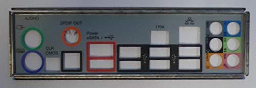 ASRock X58 Extreme3 Blende - Slotblech - I/O Shield #79044