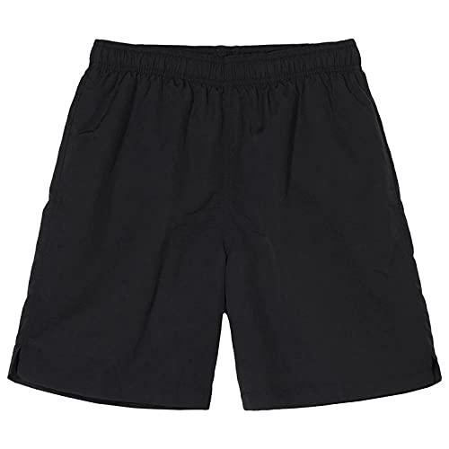 Shorts Pantalones Cortos Hombres Hombres Gimnasios Pantalones Cortos Delgados De Fitness Joggers De Culturismo Quic Dry Cool Pantalones Cortos Hombre Casual Beach Sweatpants-Black_2_L (168-173)