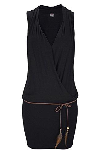 S.Oliver Beach Strandbekleidung Strandmode , schwarz, 40