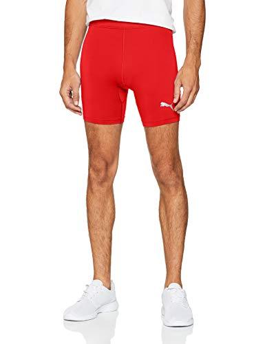PUMA Liga Baselayer Short Tight, Pantaloncini Uomo, Rosso (Red), M