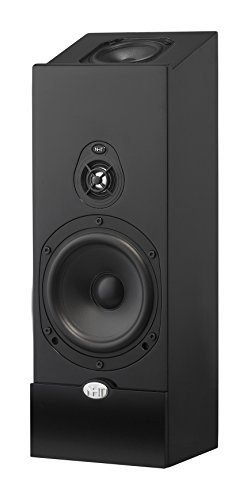 NHT Media Series 2-Way Dolby Atmos Satellite Speaker, Single, Single, High Gloss Black