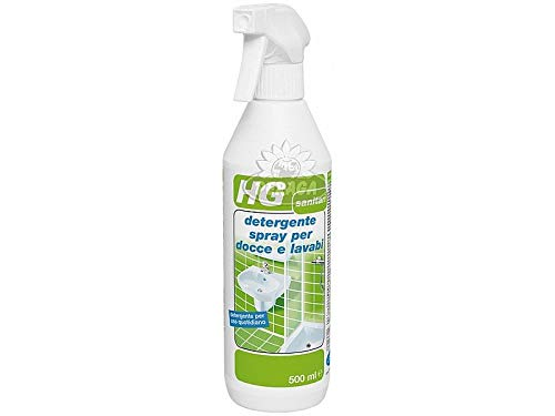 HG detergente spray per docce e lavabi