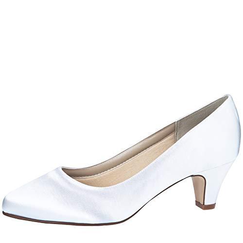 Rainbow Club Megan - Zapatos de Novia Acolchados, Color Marfil, Crema y...