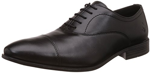 Bond Street by (Red Tape) Men's Black Formal Shoes - 7 UK/India (41 EU) (BSS0091)