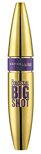 Maybelline New York, Máscara de Pestañas Volum' Express, Colossal Big Shot, Negro, 9,5 ml