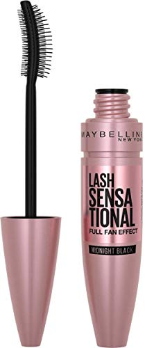 Maybelline New York Mascara für Volumen und Definition, Lash Sensational, Midnight Black, 9,5 ml