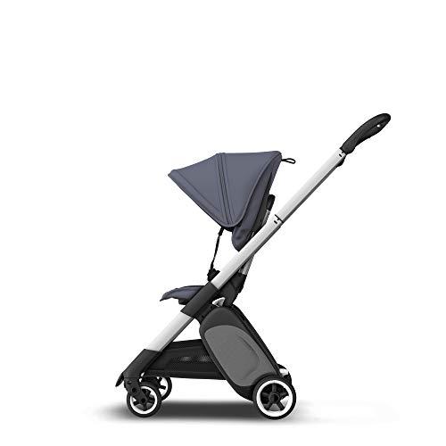 Bugaboo Ant - carrito ligero de viaje con plegado compacto, se convierte en un carrito (Azul)