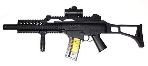 Fusil Airsoft M41K Style G36 à Ressort/Spring/Rechargement Manuel (0.5 Joule)-Livré avec Accessoires