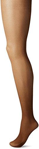 Hanes Silk Reflections Womens Perfect Nudes Micro-net Control Top Pantyhose, tan, MEDIUM