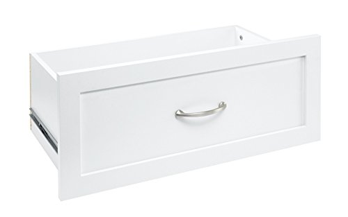 ClosetMaid 4874 SuiteSymphony 25-Inch X 10-Inch Drawer, Pure White