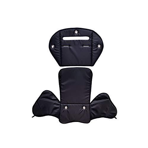 Aveanit RÖMER JOCKEY Sitzpolster № 4 Sitzpolster Ersatzbezug für Fahrradsitz, Kompatibel mit RÖMER JOCKEY (Schwarz Wasserdichtes)