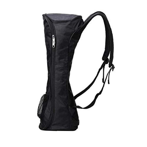 lulongyansf Tragbare Hoverboard Rucksack Schultertragetasche Für 2-Rad-Elektro Selbst Gleichgewicht Scooter Reise Knapsack Rucksack Zubehör Schwarz