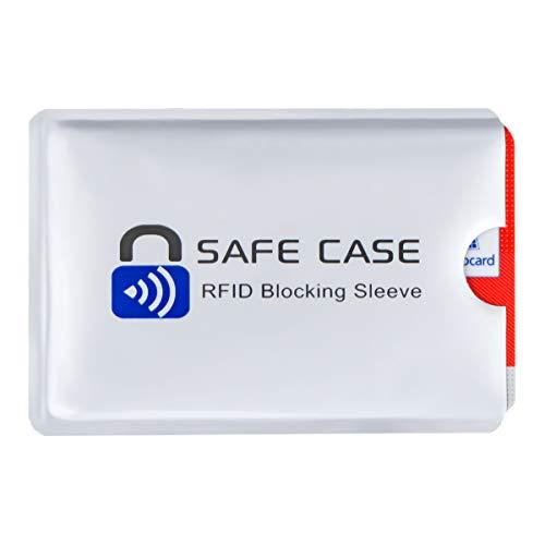 Diawell RFID NFC Kartenschutzhüllen Schutzhülle Blocker Datenschutz Abschirmung Hülle Sleeve EC Karte Kreditkarte Personalausweis Kreditkarte für Geldbeutel (1x)