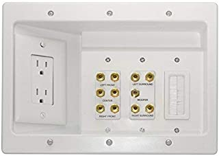 11.2 home theater wall plate