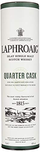 Laphroaig Quarter Cask Islay Single Malt Scotch Whisky, mit Geschenkverpackung, in Quarter Casks gereift, 48% Vol, 1 x 0,7l - 6