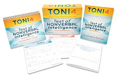 Toni-4: Test of Nonverbal Intelligence - Fourth Edition-Testing Time: 15 to 2...