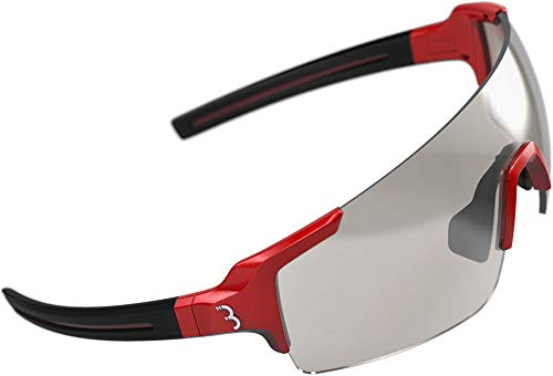 BBB Cycling Unisex's sportbril FullView PH, glanzend metallic rood, One Size