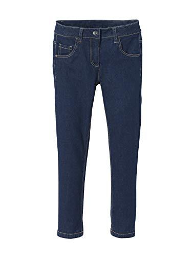 Vertbaudet Vertbaudet Slim-Fit-Jeans für Mädchen Dark Blue 86