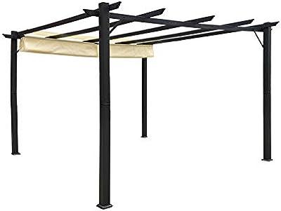 Jet-line Gazebo Luxor - Cenador para jardín (3 x 4 m ...