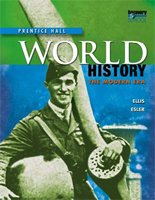 Student Edition Tennessee (Prentice Hall World History The Modern Era) 0131336916 Book Cover