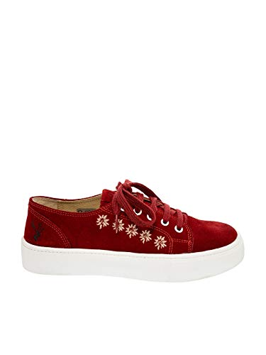 Spieth & Wensky Sneaker Ludmilla Crosta rot Gr.37