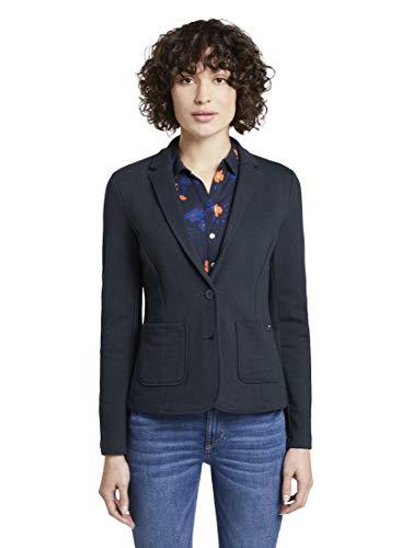 TOM TAILOR Dames Jersey Ottoman Blazer