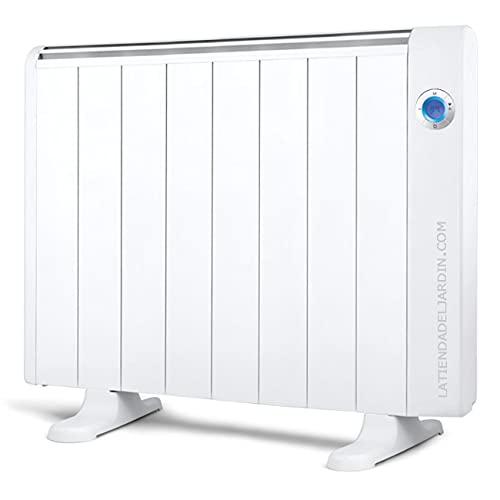 Suinga Emisor térmico bajo consumo WiFi. Potencia 1500 W. Pantalla digital LCD. Rango de temperatura: 7ºC - 35º C.