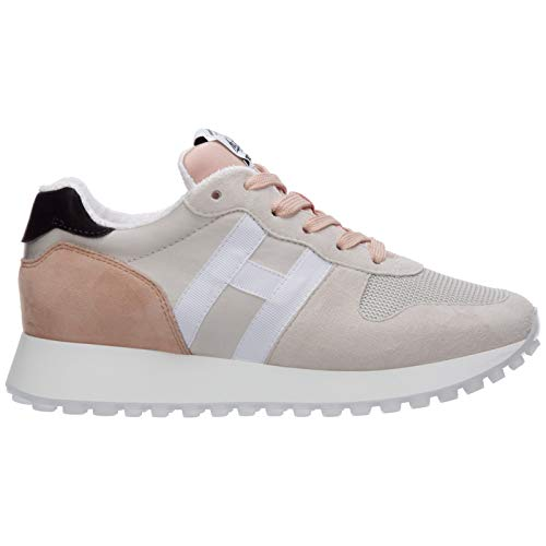 .Hogan Sneakers H383 Donna Beige 38.5 EU