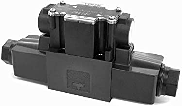 Yuken Kogyo Co. Ltd. DSG-01-3C4-D12-D-7090 1/8 Solenoid Operated Directional Valve, Spool Type 4, Spring Centered, D12 Coil, Deutsch Connector
