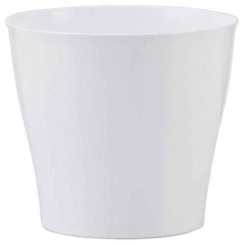Scheurich Übertopf Bright White Ø 13 cm, Höhe 11 cm