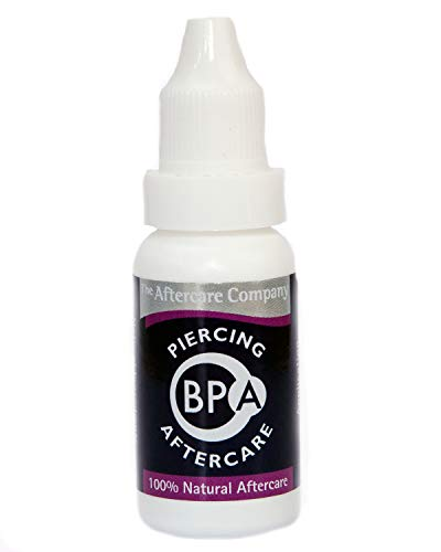 BPA Piercing Aftercare 1 x 10ml Bottle from The Aftercare Company
