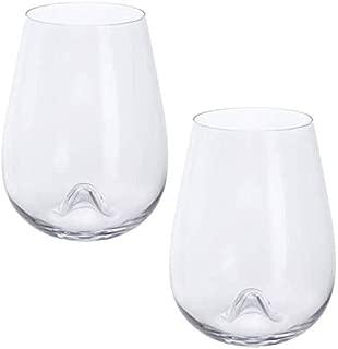 Dartington Crystal WB428/P Stemless Wine Glass, Clear